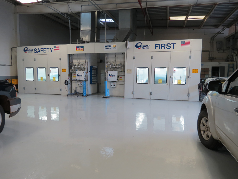 Body Paint Hawaii >> Garmat 3000 down draft spray booths | Kuroda Auto Body